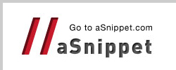 Go to //aSnippet to Share & Search sniippets